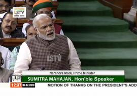 Motion of thanks on the President's address 2018